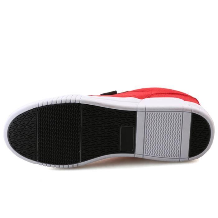 Chaussures De Sport Pour Femme en daim Textile De Course Populaire BWYS-XZ127Rouge40 aQKKfVq