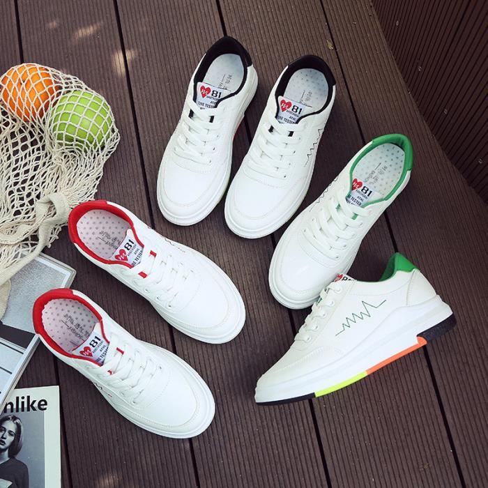 Femme Baskets Basses Chaussure basket Sneakers Chaussures occasionnelles