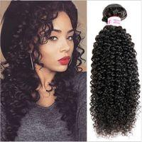 PERRUQUE - POSTICHE extensions cheveux Bundles Kinky bouclés 100g  Hum