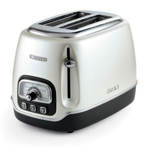 GRILLE-PAIN - TOASTER Ariete Toaster Classica 2 Cut Pearl