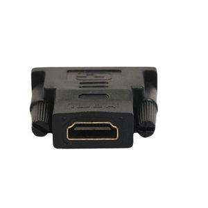 CÂBLE TV - VIDÉO - SON Tressées Câble HDMI + DVI adaptateur HD 3D pour le