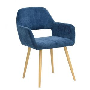 fauteuil scandinave bleu achat vente pas cher. Black Bedroom Furniture Sets. Home Design Ideas