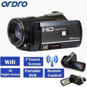 CAMÉSCOPE NUMÉRIQUE ORDRO HDV*D395 Wifi Caméra Vidéo Numérique DVR 3