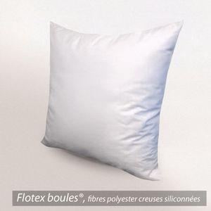 OREILLER Oreiller 65x65cm GRIZZ'LIT FLOTEX Fibre Polyester
