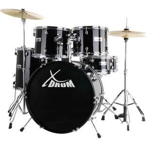BATTERIE XDrum Classic Drum Set complet en noir y compri…