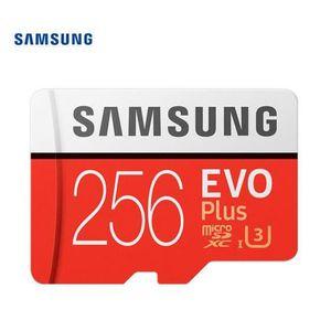 CARTE MÉMOIRE Carte mémoire micro SD Samsung Carte TF 256 Go 100
