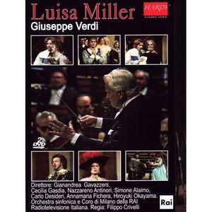 DVD MUSICAL Luisa Miller / Giuseppe VERDI / (1 DVD)