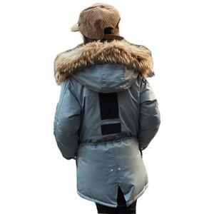 MANTEAU - CABAN Manteau Hiver Chaud Fille Allolugh Lumineux HAT - 065d813f1ad