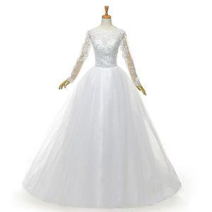 JUPON DE MARIAGE Nouveau Robe mariée Robes de mariage femme blanc é