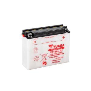 BATTERIE VÉHICULE Batterie moto YUASA YB16AL-A2 12V 16Ah-Yuasa