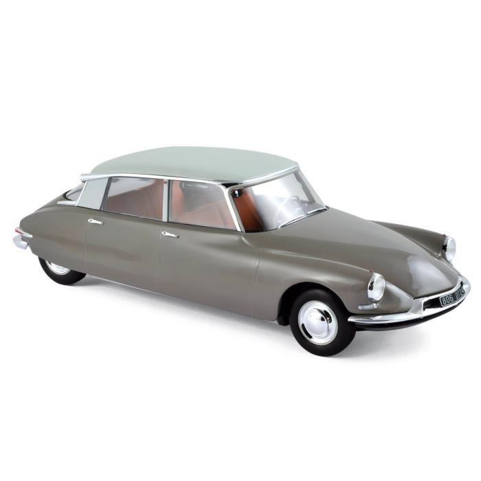 NOREV Citroën DS 19 1959 - Marron glacé & Blanc Carrare