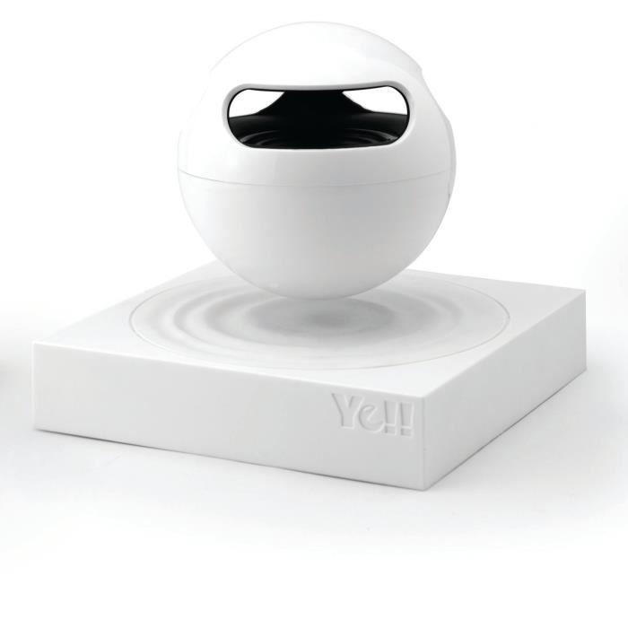 Cette enceinte Bluetooth à lévitation fonctionne comme une enceinte Bluetooth classique défiant la gravitéENCEINTE NOMADE - HAUT-PARLEUR NOMADE - ENCEINTE PORTABLE - ENCEINTE MOBILE - ENCEINTE BLUETOOTH - HAUT-PARLEUR BLUETOOTH