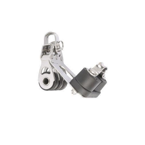 Poulie MININOX triple manille bloqueur Modele 20 mm