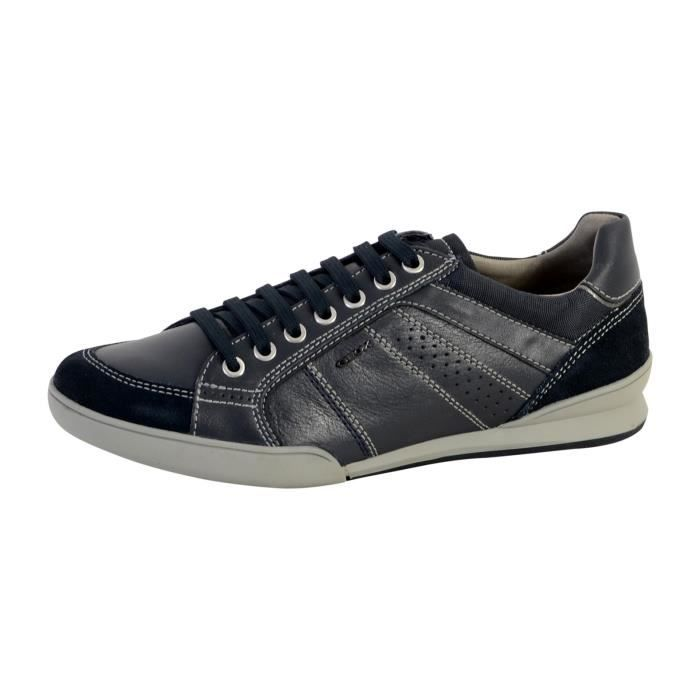 Geox Sneakers Homme TAUPE 43  Taupe - Achat / Vente basket  - Soldes* dès le 27 juin ! Cdiscount