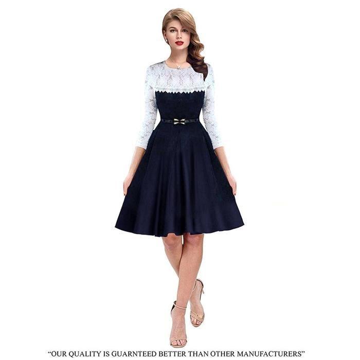 Party Western Wear Women Wear Robe patineuse V0IQ7 Taille-34
