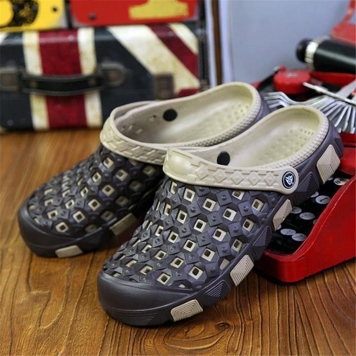 Sandale Hommes Confortable Plus De Couleur Chaussures Nouvelle arrivee Haut qualité Durable Chaussures xDgTaNnc