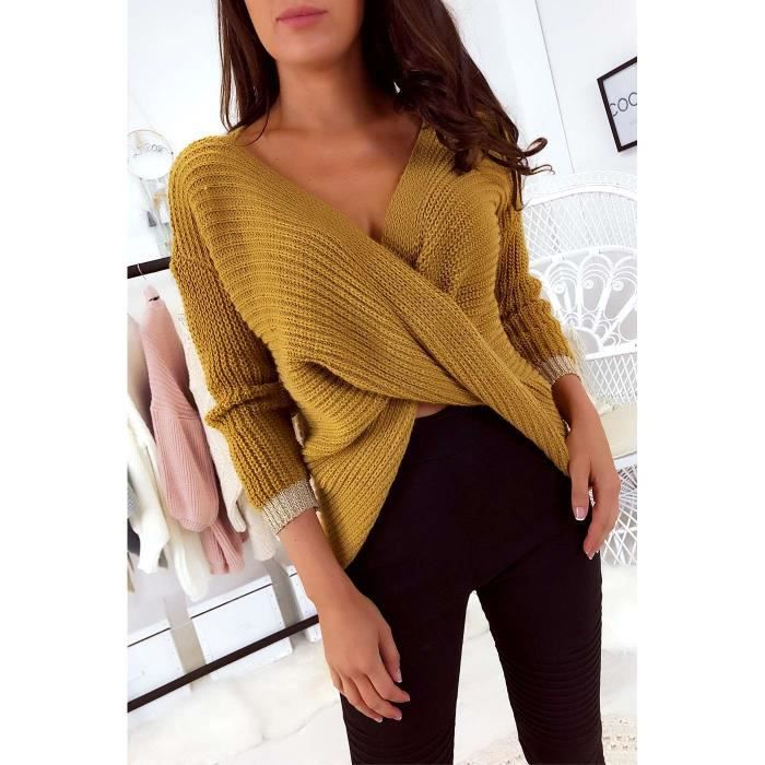 391d84a9ef4 Pull moutarde - Achat   Vente pas cher