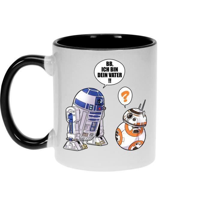 Und Ich 8 Star Vater Bin Geek Bb Dein R2 Haute D2 Traduction Parodie Mugs Qualité863 Wars Von Mug Allemand R5Lq4A3j