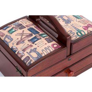 boite a couture compartiment achat vente boite a. Black Bedroom Furniture Sets. Home Design Ideas