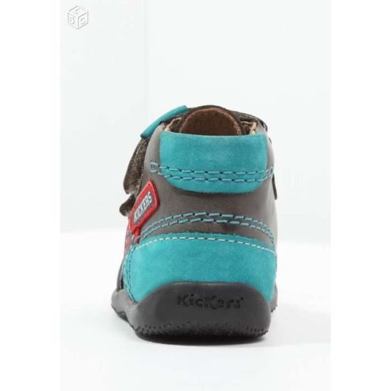Kickers Achat 24 Turquoise Bitoo Pointure Vente Noir Chaussures ZCq7ww