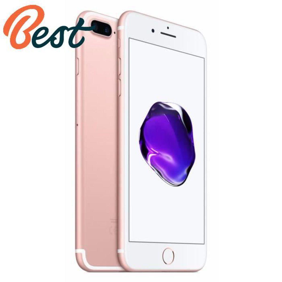 207d3e61c9bfe0 APPLE IPhone 7 plus 32 Go Rose débloqué - Achat smartphone recond ...