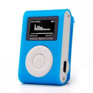 LECTEUR MP3 Mini USB clip Lecteur MP3 écran LCD support 32GB m