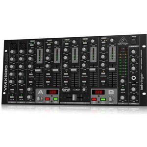 TABLE DE MIXAGE Behringer VMX1000USB Pro Table de mixage DJ 7 cana
