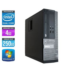 UNITÉ CENTRALE  PC Dell Optiplex 3020 SFF - G3240 3,1GHz - 4Go -25