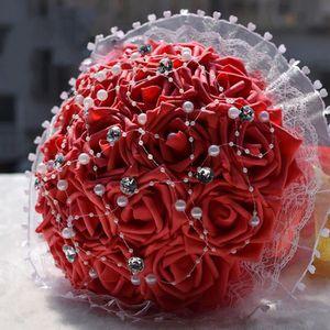 bouquet de fleur artificielle mariage achat vente pas cher. Black Bedroom Furniture Sets. Home Design Ideas