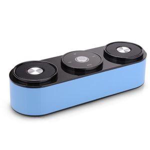 ENCEINTE NOMADE (bleu) appels mains libres bluetooth orateurs hifi