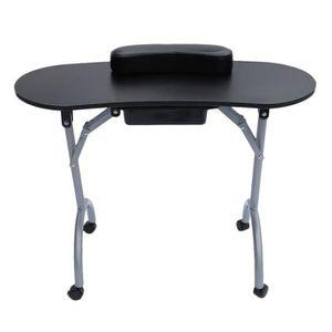 table avec tiroir a roulette achat vente table avec tiroir a roulette pas cher cdiscount. Black Bedroom Furniture Sets. Home Design Ideas