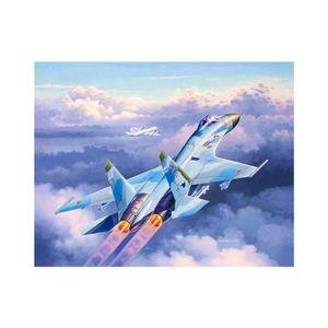 AVION - HÉLICO Maquette avion : Suchoi Su-27 Flanker - 1/144 aill