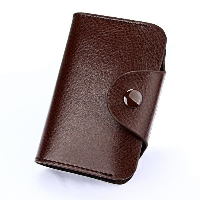 Cuir Femmes Poches Id Mn2960 D'embrayage Bifold Wallet Crédit Porte Hommes Porte En monnaie cartes qwFx6I