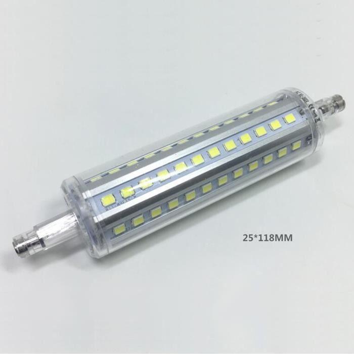 Lumière 2835 Blanc À Halogène 118mm R7s Led Ampoule 10w Remplacer oBdxeC