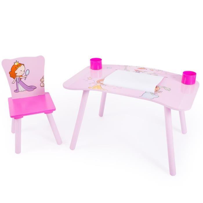TABLE ET CHAISE Bureau Table Dessin Avec Chaise Pour Enfant Moti