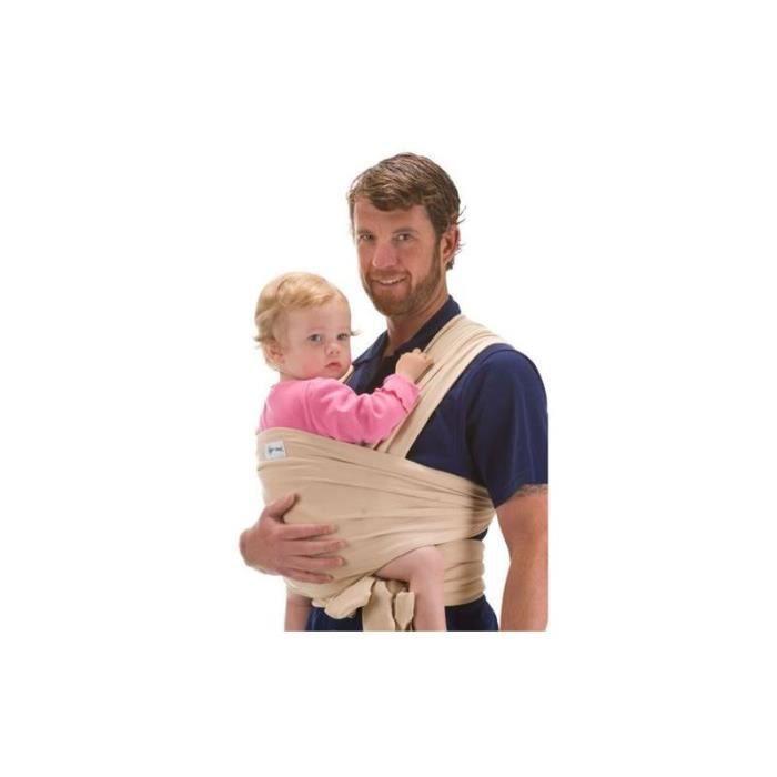 BEBEMOOI - Echarpe de portage - porte bébé coto... Beige - Achat ... 7afe2293e19