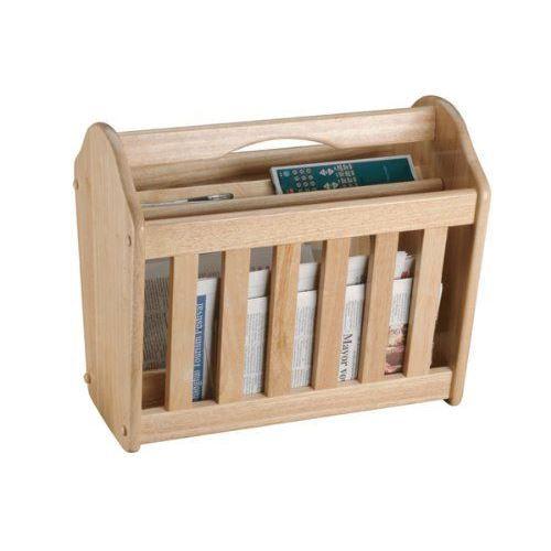 Apollo porte revues en bois d 39 h v a import gran achat for Porte journaux en bois