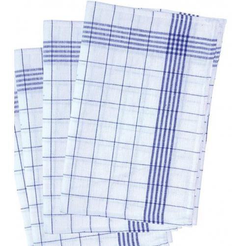 lot de 3 torchons de vaisselle qualit restaurant gt 9 02 bleu et blanc lin achat. Black Bedroom Furniture Sets. Home Design Ideas