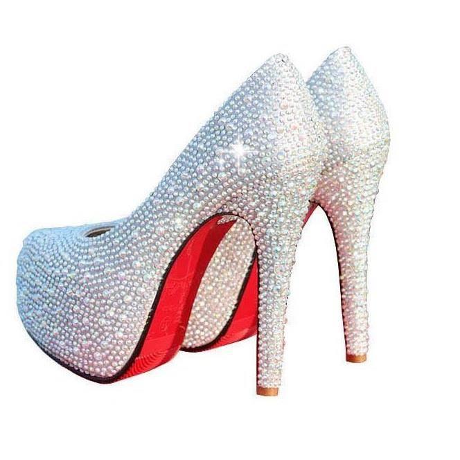 a2d1ff8f95d07b Chaussures à talons soirée argenté semelle rouge argent - Achat / Vente  escarpin - Soldes d'été Cdiscount
