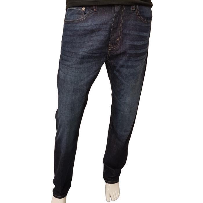 Jeans Levis s pour hommes coupe droite regular - 505 0396 bleu. Bleu ... 523c920a729f
