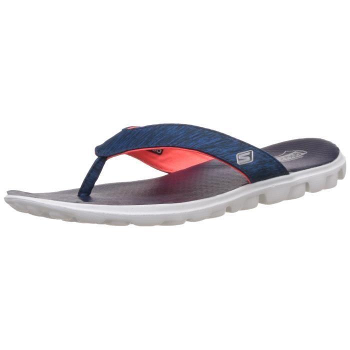 Skechers Sandale à thong de flux de femmes sur le terrain USXCQ