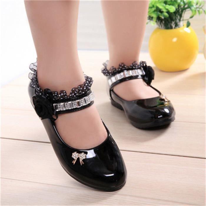 2018 printemps et en automne nouvelles grandes chaussures pour enfants filles bébé chaussures enfants princesse chaussures d'étu