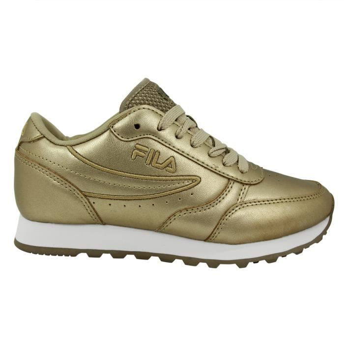 Vente Orbit F Low Achat Sneakers Chaussures Fila Doré Mode Femme bf6vY7gyI