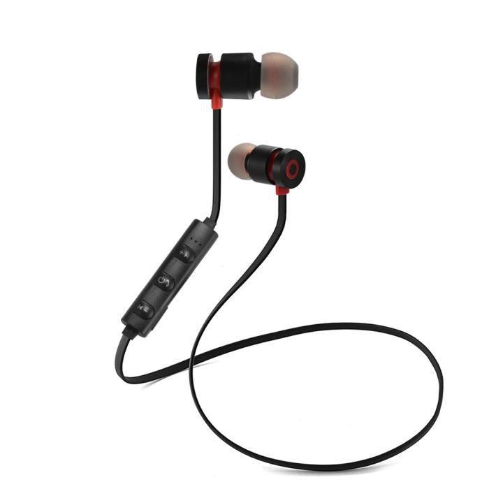 Xcsource Bluetooth Magnétique Casque Sans Fil Sport Stéréo Basse Écouteurs Étanche In-ear Avec Microphone Th870