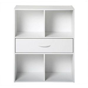 COMPO Meuble de rangement blanc - L 62 cm