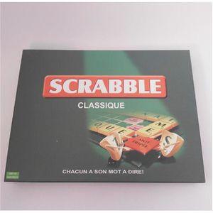 JEU SOCIÉTÉ - PLATEAU Mattel Classique Scrabble jeu de plateau