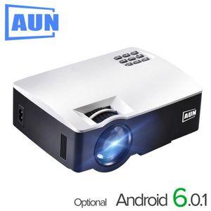 Vidéoprojecteur AUN Projecteur AKEY1 Plus pour Home Cinéma 1800 Lu