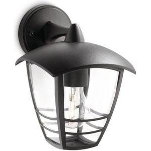 LAMPION CREEK - Applique d'extérieur Descendante Noir H20c