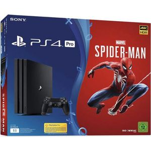 CONSOLE PS4 PS4 PRO 1 TO + Marvel Spider Man + PSN 14 Jours