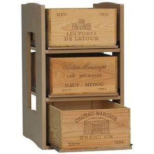 casier bois special caisse coulissant achat vente coffret cadeau vin casier bois special. Black Bedroom Furniture Sets. Home Design Ideas